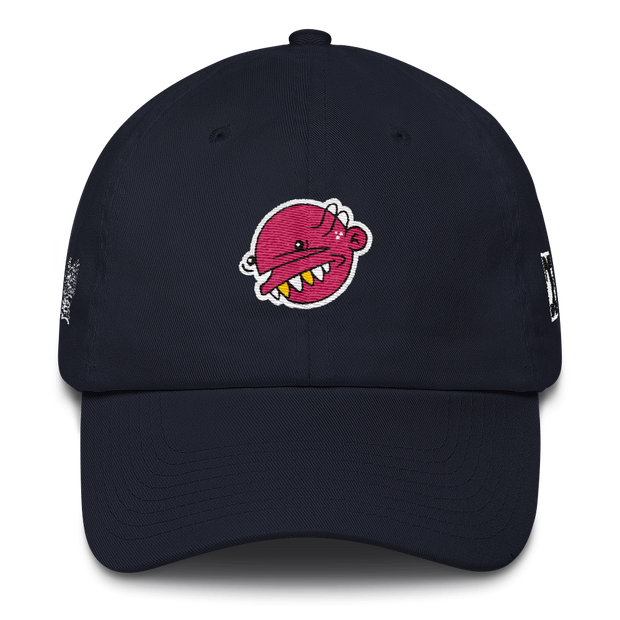 Pink Goop Head Dad Hat - Devious Elements Apparel