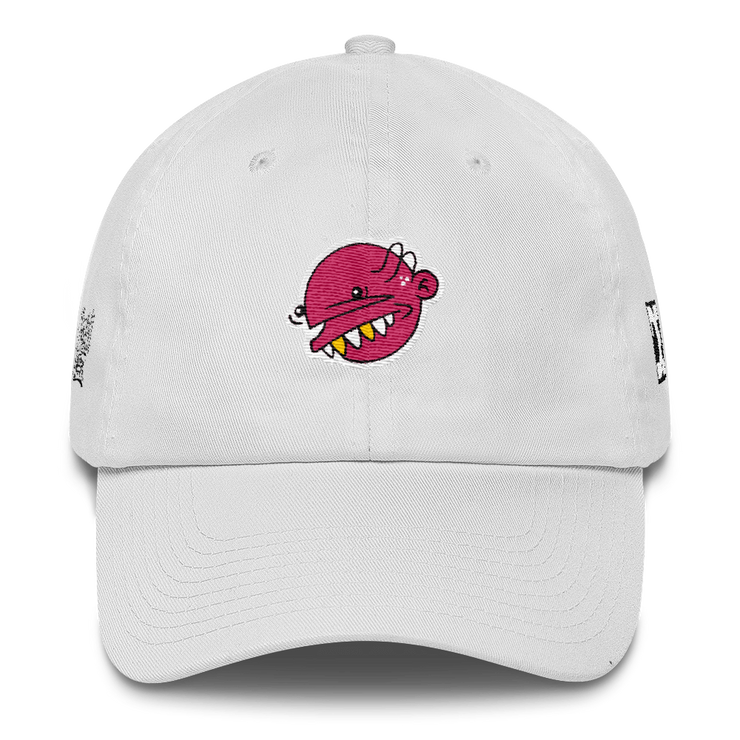 Pink Goop Head Dad Hat Goopmassta hat Pink Goop Head Dad Hat Pink Goop Head Dad Hat - Devious Elements Apparel