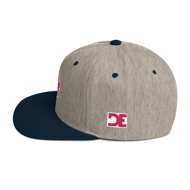 Pink Goop Head 5 Panel Snapback - Devious Elements Apparel