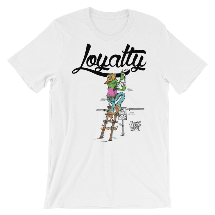 Goop Loyalty Mashup Unisex Graphic Crew T-shirt - Devious Elements Apparel