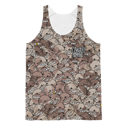 Goop Heads Camo Pattern Cut-&-Sew Unisex Tank - Devious Elements Apparel