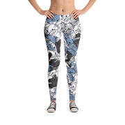 Goop Heads Camo Pattern Print Leggings Goopmassta Leggings Goop Heads Camo Pattern Print Leggings Goop Heads Camo Pattern Print Leggings - Devious Elements Apparel