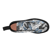 Goop Heads Camo Pattern Canvas Men's Boots - Devious Elements Apparel
