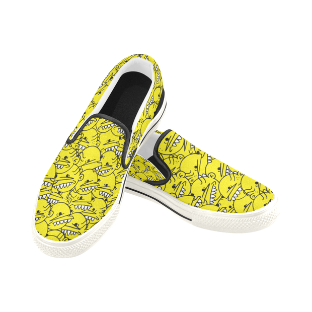 Goop Heads Solid Pattern Men's Canvas Slip On Sneaker Goopmassta shoes Goop Heads Solid Pattern Men's Canvas Slip On Sneaker Goop Heads Solid Pattern Men's Canvas Slip On Sneaker - Devious Elements Apparel