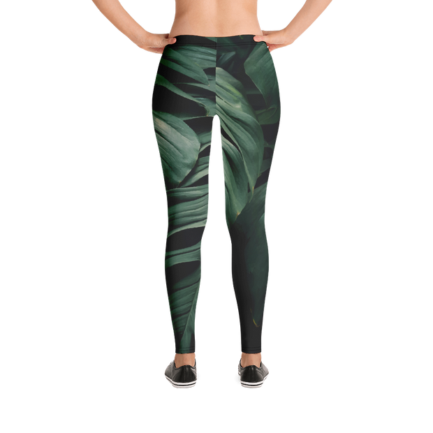 Green Elephant Leaf Print Leggings Devious Elements Apparel Leggings Green Elephant Leaf Print Leggings Green Elephant Leaf Print Leggings - Devious Elements Apparel