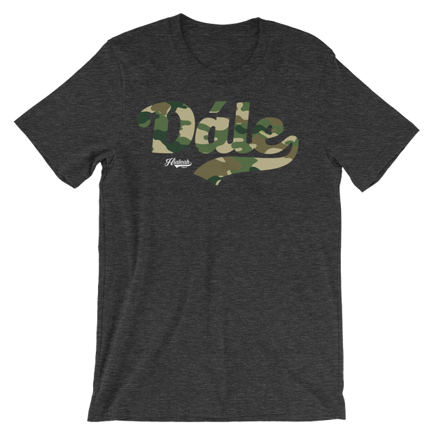 Hialeah Raised Dále Camo Crew - Devious Elements Apparel