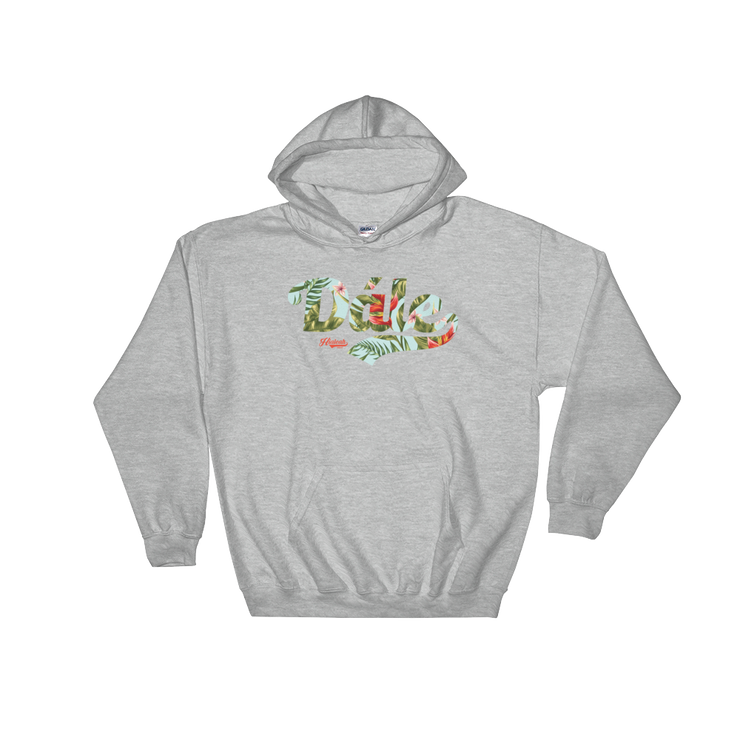 Hialeah Raised Dále Tropical Floral Hoodie - Devious Elements Apparel