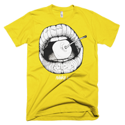 Cherry Lips Unisex Graphic Crew T-shirt - Devious Elements Apparel