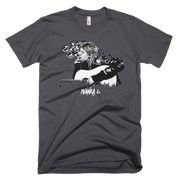 Kurt Cobain Smoking Unisex Graphic Crew T-shirt - Devious Elements Apparel