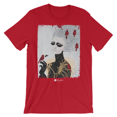 Frozen Unisex Graphic Crew T-shirt - Devious Elements Apparel