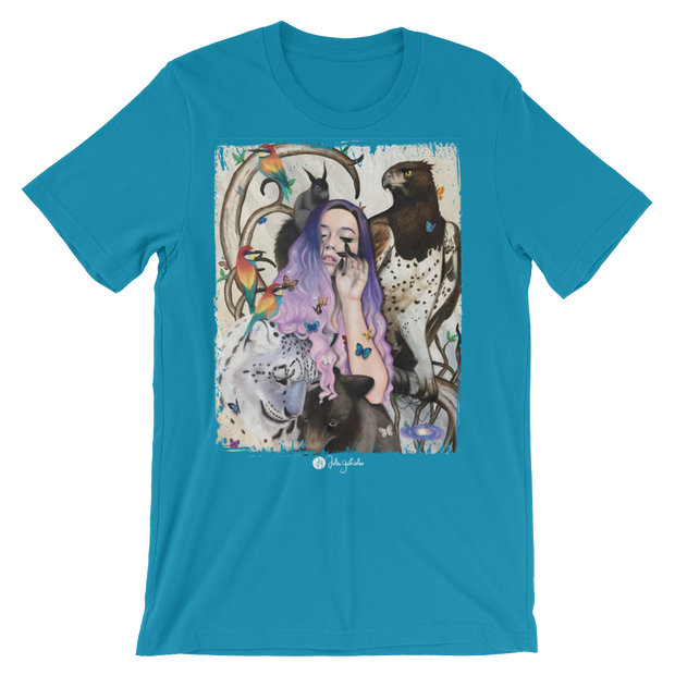 The Creators Hand Unisex Graphic Crew T-shirt - Devious Elements Apparel