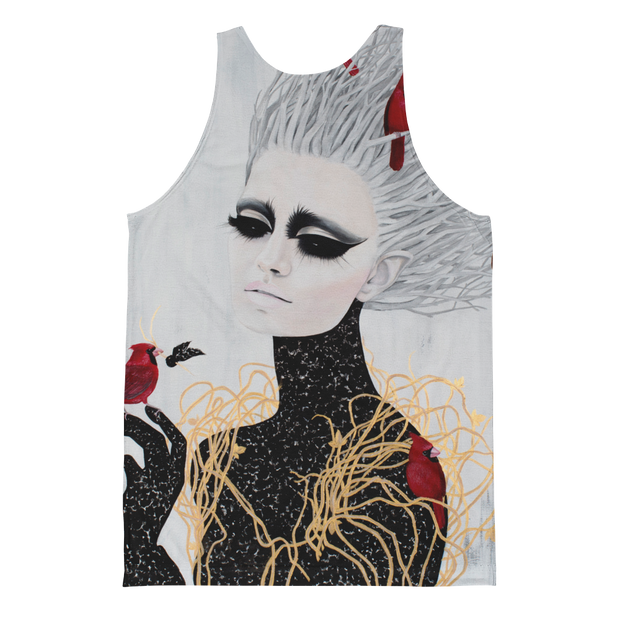 Frozen All Over Print 2 Unisex Tank - Devious Elements Apparel