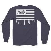 Loyalty American Flag Long Sleeve Crew T-shirt Loyalty Raglan Loyalty American Flag Long Sleeve Crew T-shirt Loyalty American Flag Long Sleeve Crew T-shirt - Devious Elements Apparel