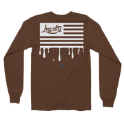 Loyalty American Flag Long Sleeve Crew T-shirt - Devious Elements Apparel