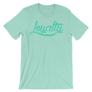 Loyalty Classic Color on Color Unisex Graphic Crew T-shirt Loyalty Shirt Loyalty Classic Color on Color Unisex Graphic Crew T-shirt Loyalty Classic Color on Color Unisex Graphic Crew T-shirt - Devious Elements Apparel