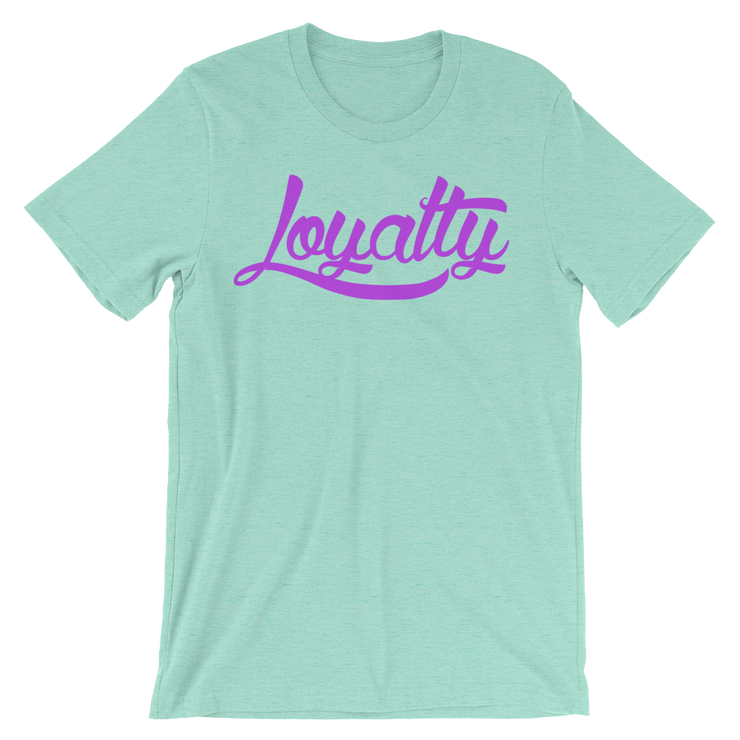 Loyalty Classic Neon Unisex Graphic Crew T-shirt - Devious Elements Apparel