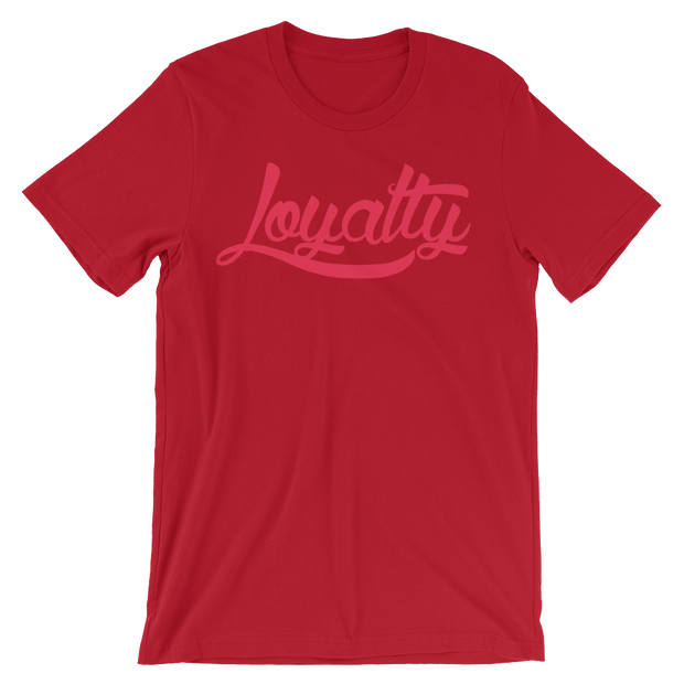 Loyalty Classic Neon Unisex Graphic Crew T-shirt Loyalty Shirt Loyalty Classic Neon Unisex Graphic Crew T-shirt Loyalty Classic Neon Unisex Graphic Crew T-shirt - Devious Elements Apparel