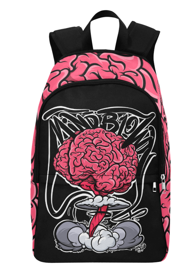 Mind Blown Explosion Print Laptop Backpack Devious Elements Apparel Back Pack Mind Blown Explosion Print Laptop Backpack Mind Blown Explosion Print Laptop Backpack - Devious Elements Apparel