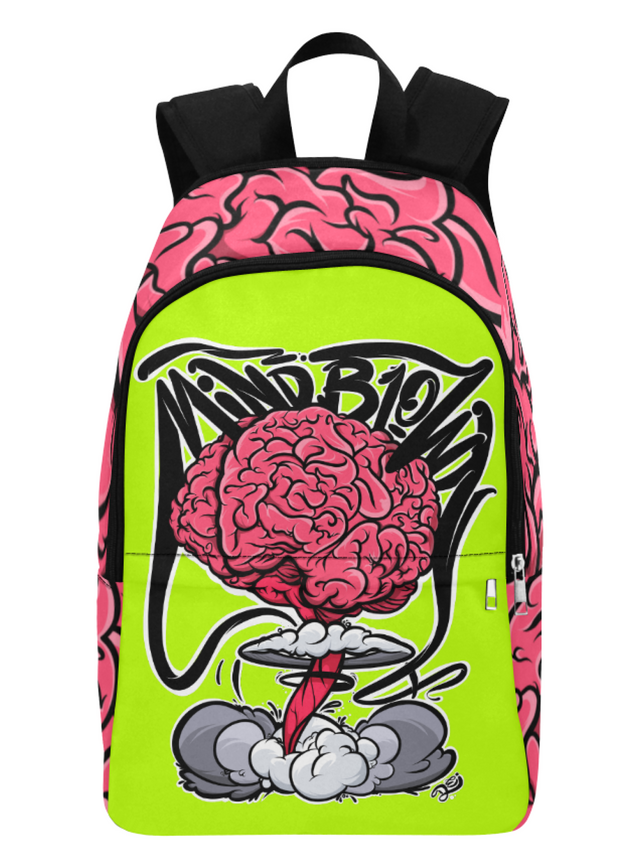 Mind Blown Explosion Print Laptop Backpack