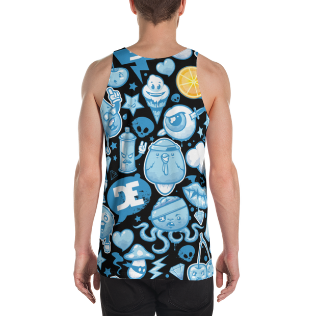 Loyalty Lighting Hammer All Over Print Tank - Devious Elements Apparel