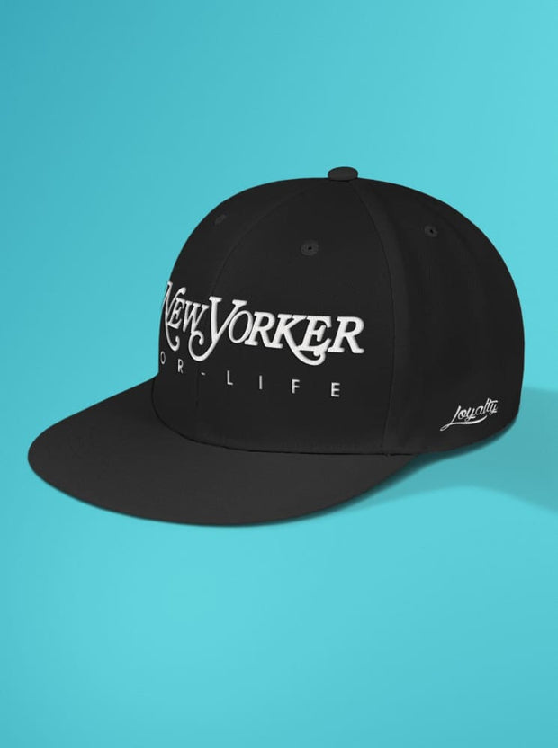New Yorker For Life Snapback Hat Loyalty hat New Yorker For Life Snapback Hat New Yorker For Life Snapback Hat - Devious Elements Apparel