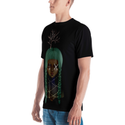 Nine All Over Print Cut & Sew Unisex Crew T-shirt Lisa Diakova Shirt Nine All Over Print Cut & Sew Unisex Crew T-shirt Nine All Over Print Cut & Sew Unisex Crew T-shirt - Devious Elements Apparel