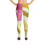 Pink Lemon Slice Print Leggings Devious Elements Apparel Leggings Pink Lemon Slice Print Leggings Pink Lemon Slice Print Leggings - Devious Elements Apparel