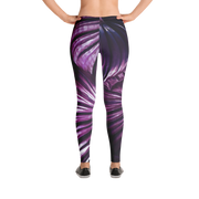Purple Tropical Leaf Print Leggings Devious Elements Apparel Leggings Purple Tropical Leaf Print Leggings Purple Tropical Leaf Print Leggings - Devious Elements Apparel