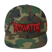 RedWater Terror Red Logo High Profile Snapback Hat Derek Garcia hat RedWater Terror Red Logo High Profile Snapback Hat RedWater Terror Red Logo High Profile Snapback Hat - Devious Elements Apparel