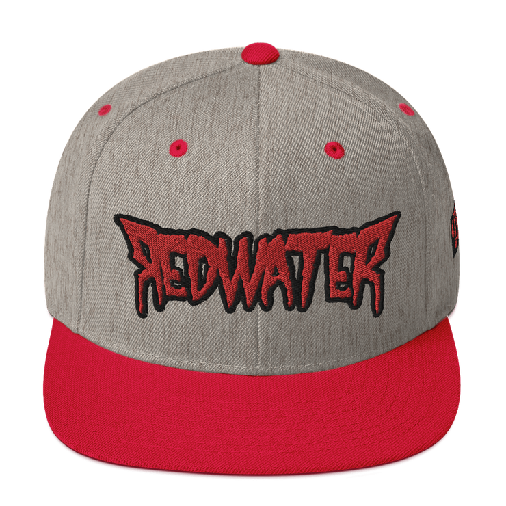 RedWater Terror Logo High Profile Snapback Hat