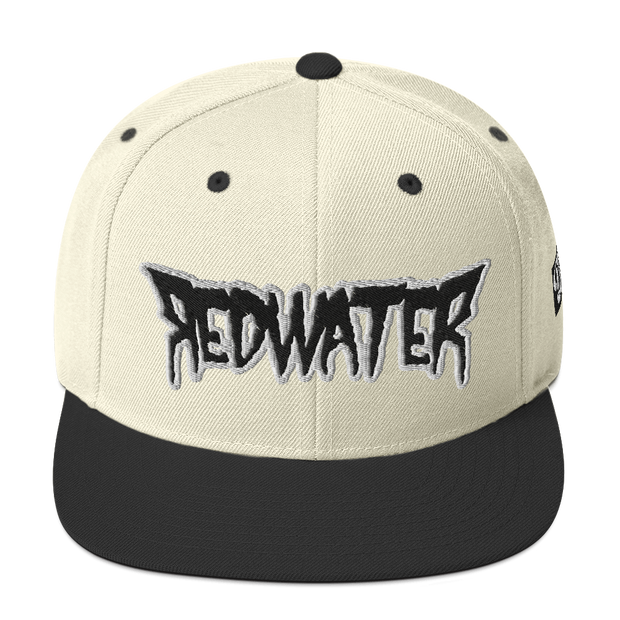 RedWater Terror Black Logo High Profile Snapback Hat