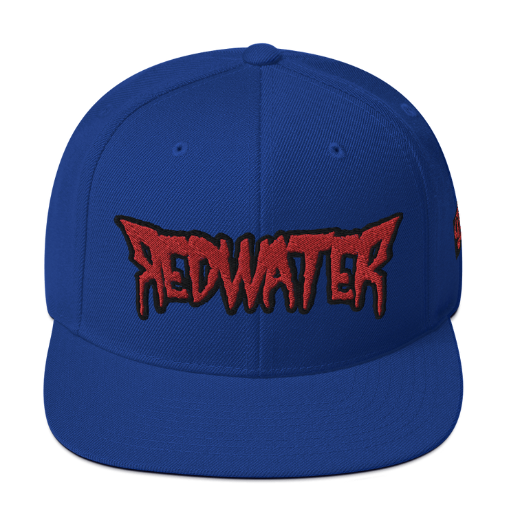 RedWater Terror Logo High Profile Snapback Hat Derek Garcia hat RedWater Terror Logo High Profile Snapback Hat RedWater Terror Logo High Profile Snapback Hat - Devious Elements Apparel