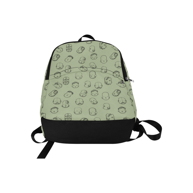 Robot Heads Pattern Print Laptop Backpack Pixel Pancho Back Pack Robot Heads Pattern Print Laptop Backpack Robot Heads Pattern Print Laptop Backpack - Devious Elements Apparel