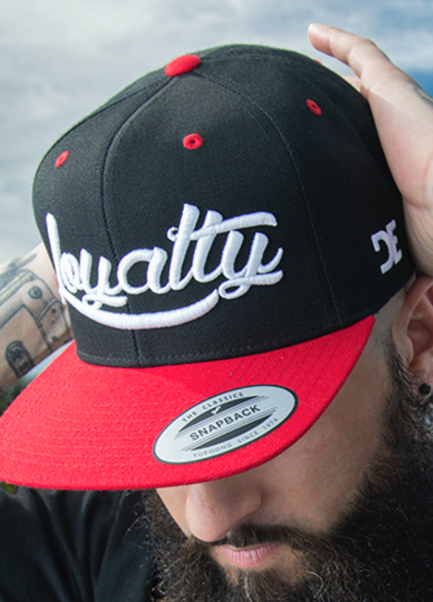 Loyalty Classic High Profile Snapback Loyalty hat Loyalty Classic High Profile Snapback Loyalty Classic High Profile Snapback - Devious Elements Apparel