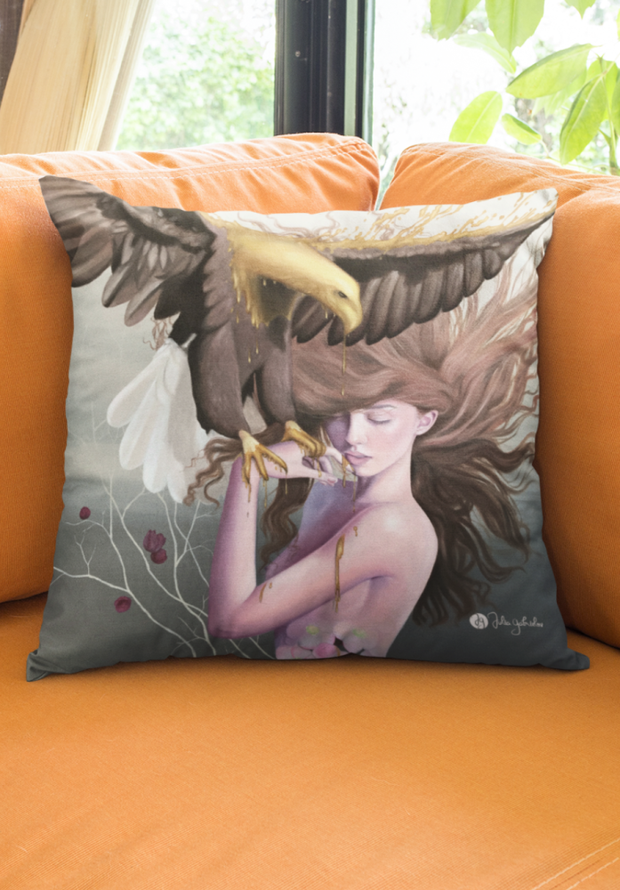 Antigravity Square Print Pillow - Devious Elements Apparel
