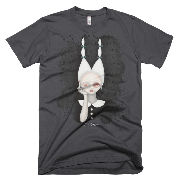 Silly Wabbit Unisex Graphic Crew T-shirt Lisa Diakova Shirt Silly Wabbit Unisex Graphic Crew T-shirt Silly Wabbit Unisex Graphic Crew T-shirt - Devious Elements Apparel