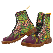 Mech Florale Burst Canvas Ladies Boots Pixel Pancho shoes Mech Florale Burst Canvas Ladies Boots Mech Florale Burst Canvas Ladies Boots - Devious Elements Apparel