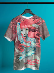 Loyalty Tattooed Mermaid DE Pattern All Over Print Crew Loyalty Shirt Loyalty Tattooed Mermaid DE Pattern All Over Print Crew Loyalty Tattooed Mermaid DE Pattern All Over Print Crew - Devious Elements Apparel