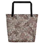 Goop Heads Camo Pattern Print Beach Bag - Devious Elements Apparel