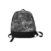 Tropicana Print Laptop Backpack
