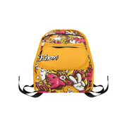Tropicana Pattern Large Capacity Travel Backpack