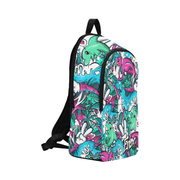 Tropicana Print Laptop Backpack Enox Art Back Pack Tropicana Print Laptop Backpack Tropicana Print Laptop Backpack - Devious Elements Apparel