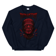 Frankenstein Red Water Unisex Crew Neck Sweatshirt