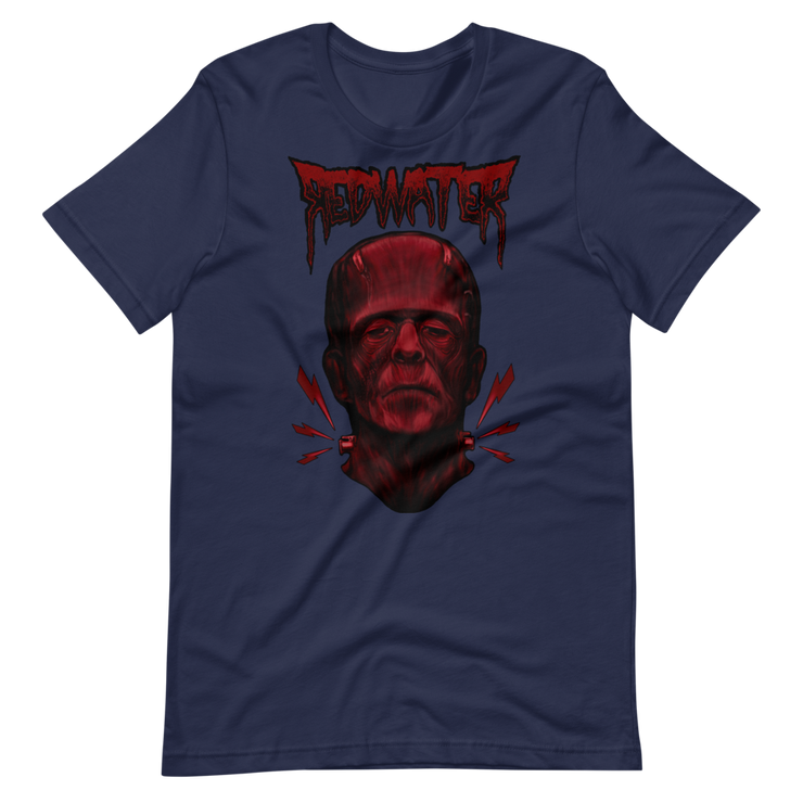 Frankenstein Red Water Unisex Crew T-Shirt Derek Garcia Shirt Frankenstein Red Water Unisex Crew T-Shirt Frankenstein Red Water Unisex Crew T-Shirt - Devious Elements Apparel