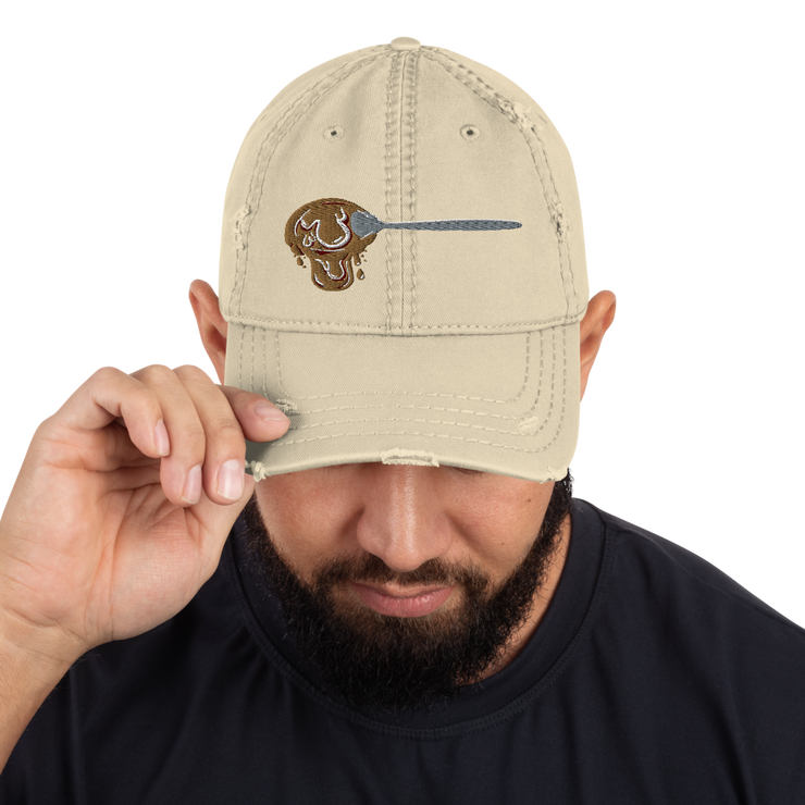 Espumita Spoon Low Profile Distressed Dad Hat ESPUMA hat Espumita Spoon Low Profile Distressed Dad Hat Espumita Spoon Low Profile Distressed Dad Hat - Devious Elements Apparel