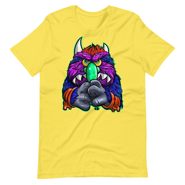 Gnarly Monster Pet Unisex Graphic T-shirt Devious Elements Apparel Shirt Gnarly Monster Pet Unisex Graphic T-shirt Gnarly Monster Pet Unisex Graphic T-shirt - Devious Elements Apparel