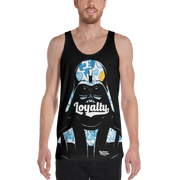 Loyalty Brand Dark Side of the Wall All Over Print Tank - Devious Elements Apparel