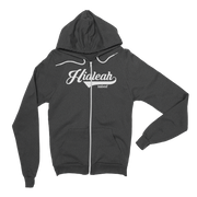 Hialeah Raised Classic Fleece Zip Hoodie Hialeah Raised Hoodie Hialeah Raised Classic Fleece Zip Hoodie Hialeah Raised Classic Fleece Zip Hoodie - Devious Elements Apparel