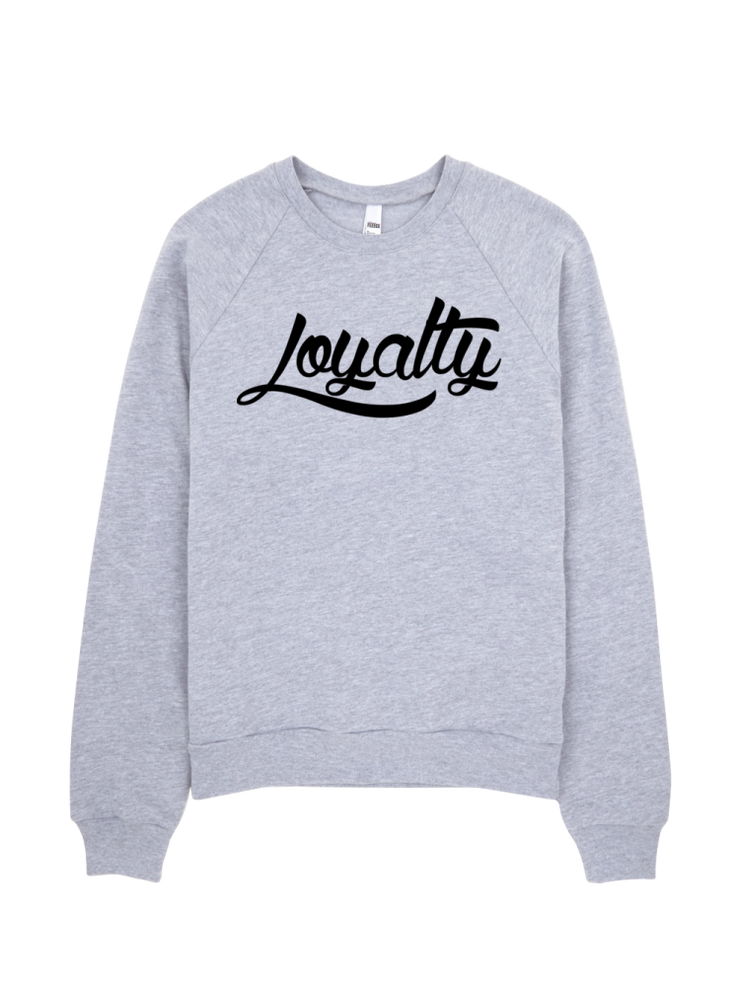 Loyalty Logo Raglan - Devious Elements Apparel