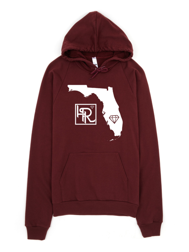 Hialeah Raised Premium Treads Florida Pullover